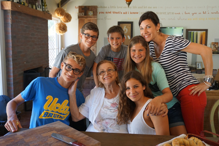 Ciamella Party, Nonna, Daughter, Cousins