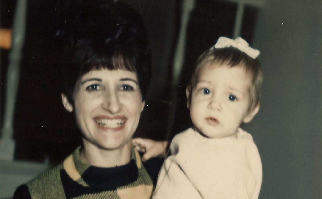 "Rosa aka ""Josie"" holding baby Patricia, CASAGIOVE California"