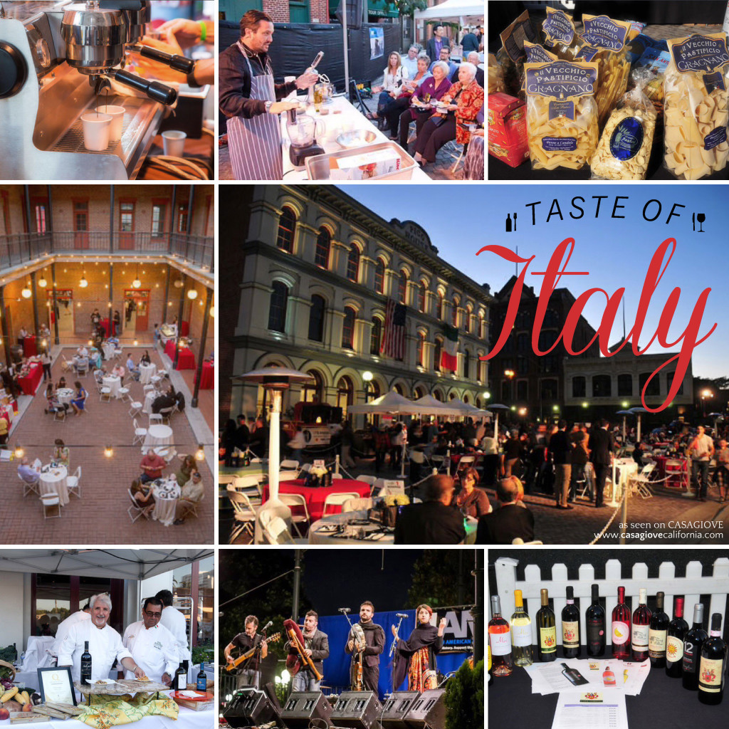 Taste of Italy Collage as seen on Casagiove, www.casagiovecalifornia.com