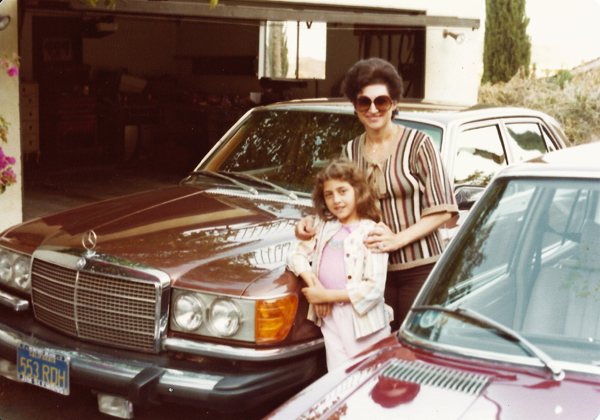 May 1978 Patrica and Josie, CASAGIOVE California