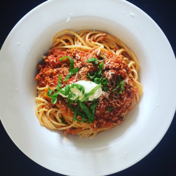 Spaghetti Bolognese by Patricia for CASAGIOVE
